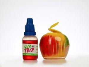 Fruchtfliegenfalle Apfel