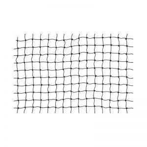 Netz schwarz PE 50 x 50mm Flammschutz B1